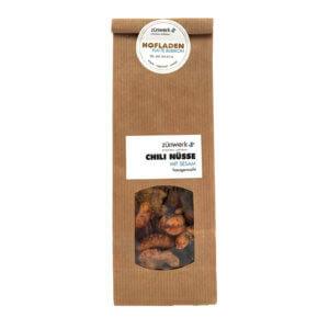 Hausgemachte Chili Nüsse